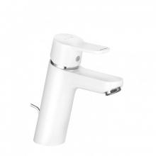 KLUDI PURE&EASY XL Jednouchwytowa bateria umywalkowa, z zestawem odpływowym, biały 372909165
