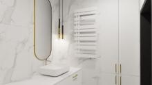 Instal Projekt Pop Star Plus grzejnik łazienkowy 50/140 White Mat C34