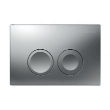 Geberit Delta 21 chrom matowy przycisk spłukujący do wc 115.125.46.1