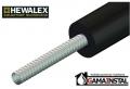 Hewalex Rura elastyczna ze stali nierdzewnej w otulinie SN-DN15/HT [50m] 80.41.02