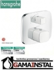 Hansgrohe Pruavida bateria termostatyczna z zaworem odcinającym biały/chrom 15775400