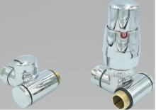Vario Term Integra zestaw instalacyjny grzejnika chrom lewy