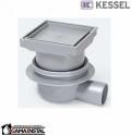 Kessel Classic wpust łazienkowy odpływ boczny DN50, z pokrywą do przyklejania płytek nr, 40150.66