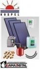 Zestaw solarny Kospel ZSH.A-3x2,3 PLUS bez wymiennika c.w.u. (dla 5-6 osób)