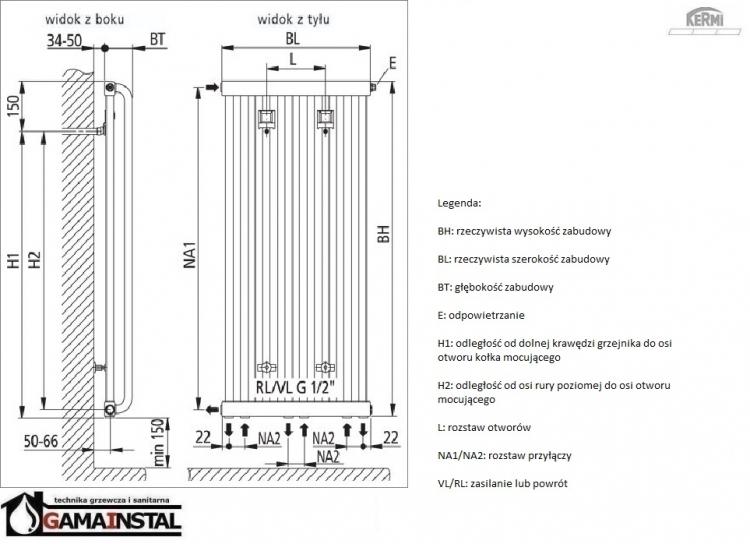 kermi decor s 1800x460 grzejnik dekoracyjny typ21. Black Bedroom Furniture Sets. Home Design Ideas