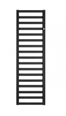 Grzejnik łazienkowy Instal-Projekt POPPY Black Mat  500x990 PPY-50/100 C31