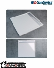 Sanswiss ILA brodzik konglomeratowy kwadratowy WIA 800x800 biały WIQ0800404