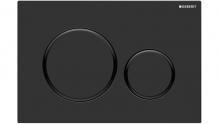 Geberit Sigma 20 przycisk spłukujący czarny mat 115.882.16.1