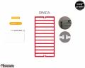 INSTAL PROJEKT Drada 50/120 Biały Mat C34