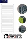 Instal Projekt grzejnik łazienkowy STICK 500X740 biały STI-50/70D50 PODŁĄCZENIE ŚRODKOWE