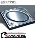 Kessel System 100 Nasada z ABS z kratką owal LOCK &LIFT ze stali nierdzewnej 27202