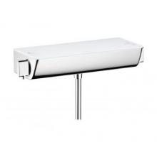 Hansgrohe Ecostat Select bateria natryskowa termostatowa z białą półką 13161400
