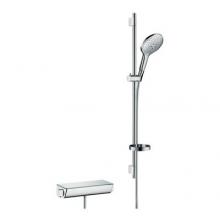 Hansgrohe zestaw Raindance select 150 0,90 m Ecostat Select   Chrom / Biały DN15 27037400