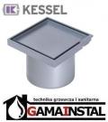 Kessel System 100 Nasada z ABS z pokrywą do wklejenia płytki z ramką z tworzywa sztucznego 27210