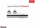 Danfoss zestaw kątowy VHX Duo chromowany 013G4279
