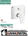 Hansgrohe Pruavida bateria wannowa podtynkowa biały/chrom 15447400