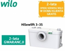 Wilo HiSewlift 3-35 pomporozdrabniacz do wc ,umywalka, prysznic, bidet, wanna 4191677