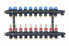 AFRISO Rozdzielacz poliamidowy ProCalida EF1 K 10 obiegów grzewczych, G1
