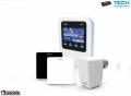 TECH WiFi 8S Regulator Internetowy, Obsługa Siłowników dla 8 Stref Grzewczych