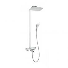 Hansgrohe komplet prysznicowy Raindance Select E 300 biały/chrom 27113400
