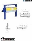Geberit Duofix element montażowy do natrysków z odpływem ściennym, h90, H50 111.591.00.1