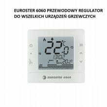 Euroster 6060 regulator pokojowy, tygodniowy, przewodowy , 6060