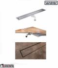 WIPER Invisible Odpływ Liniowy 900 Drewno egzotyczne, Marmur, Granit, Gres, Szkło Hartowane, Posadzka Winylowa WI900