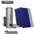 Zestaw solarny Hewalex 3 TLPAC-KOMPAKT 300HB 93.41.02