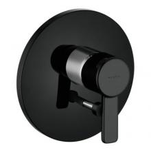 Kludi Zenta podtynkowa bateria wannowo-natryskowa 386508675 czarny/chrom