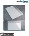 Sanswiss ILA brodzik konglomeratowy prostokątny WIA 800x900 biały WIA800900404