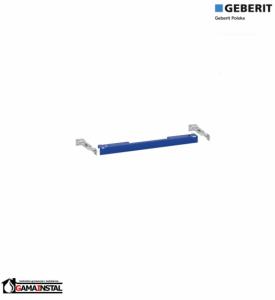 Geberit DuofixBasic - zestaw montażowy, wsporniki do WC, UP100, Delta, H112