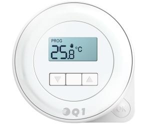 Euroster Q1 regulator temperatur dobowy przewodowy , Q1