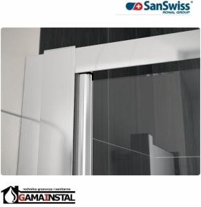 Sanswiss ECO-LINE drzwi dwuczęściowe 90cm ECP200900107