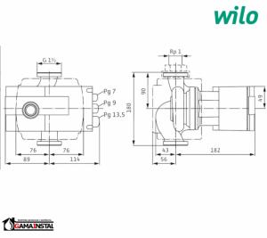 Wilo pompa obiegowa Stratos 25/1-1 2103615