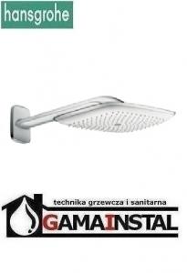 Hansgrohe Pruavida głowica prysznicowa 400mm DN15 z ramieniem prysznicowym 387mm chrom 27437000