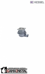 KESSEL SYSTEM 100 zestaw odpływowy - Wpust z kratką 40150.20