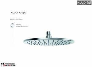 Kludi A-QA deszczownica 250mm 643250500