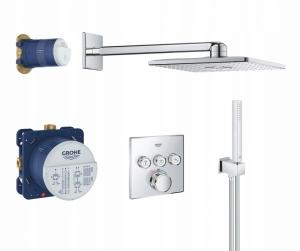 Podtynkowy pakiet termostatyczny Grohe Grohtherm Smart Control 34706000