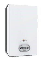 Ferroli BlueHelix Pro RRT 24C kocioł kondensacyjny gazowy dwufunkcyjny 0T3B2HWA