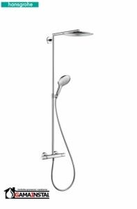 Hansgrohe Komplet prysznicowy Raindance select E 3601 jet Chrom 27113000