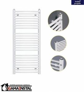 Instal Projekt grzejnik łazienkowy OMEGA R 600X915 biały OMER-60/90