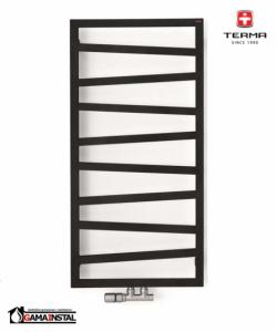 TERMA ZIG ZAG  835X500 METALIC BLACK Z8 WGZIG083050KMBCZ8