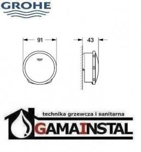 GroheTalentofill zestaw napełniający, odpływowy i przelewowy do wanien 19952
