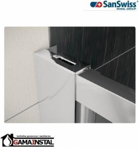 Sanswiss ECO-LINE drzwi dwuczęściowe 70cm ECP207000107