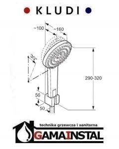 Kludi A-QAi zestaw wannowo-natryskowy 661500500
