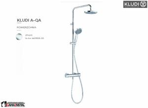 KLUDI Dual Shower System z Termostatem