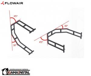 Flowair Konsola montażowa uchwyty do nagrzewnicy  FB o mocach 25,45,65,95