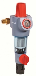 Honeywell FK74CS Filtr do wody z regulatorem ciśnienia z płukaniem wstecznym DN 25 1cal