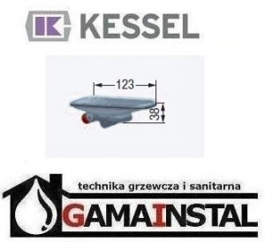 Kessel Multistop suchy syfon LINEARIS Compact 48400