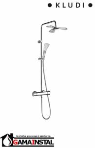 KLUDI Dual Shower System z termostatem Zestaw natryskowy chrom 6709505-00